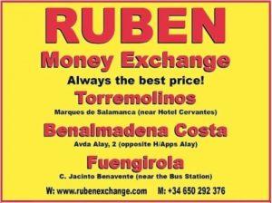 Torremolinos kantow wymiany walut