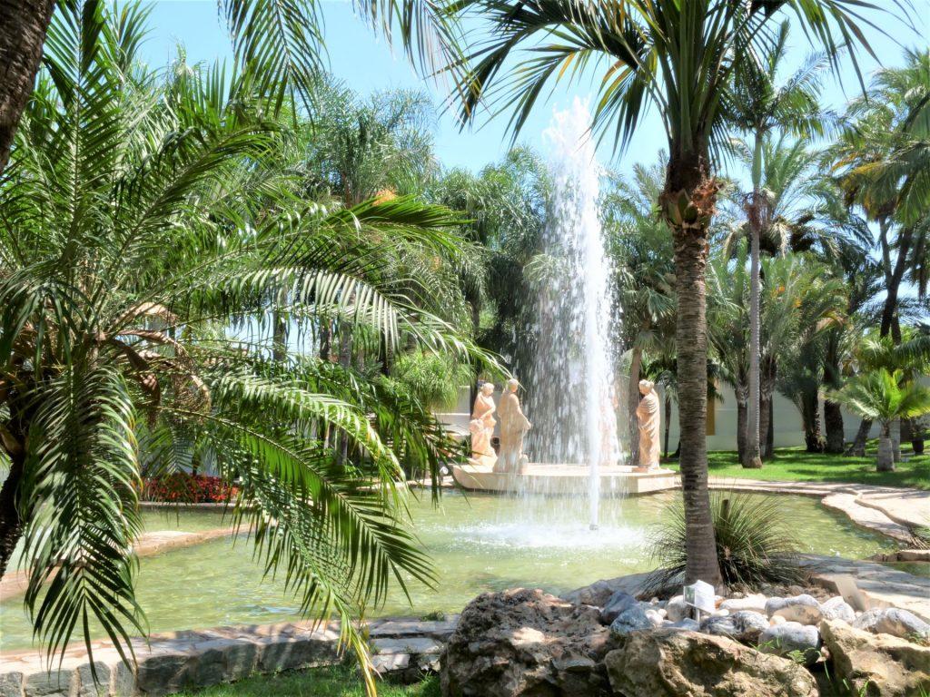 Torremolinos ogród botaniczny