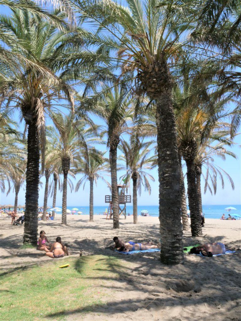 plaże Torremolinos