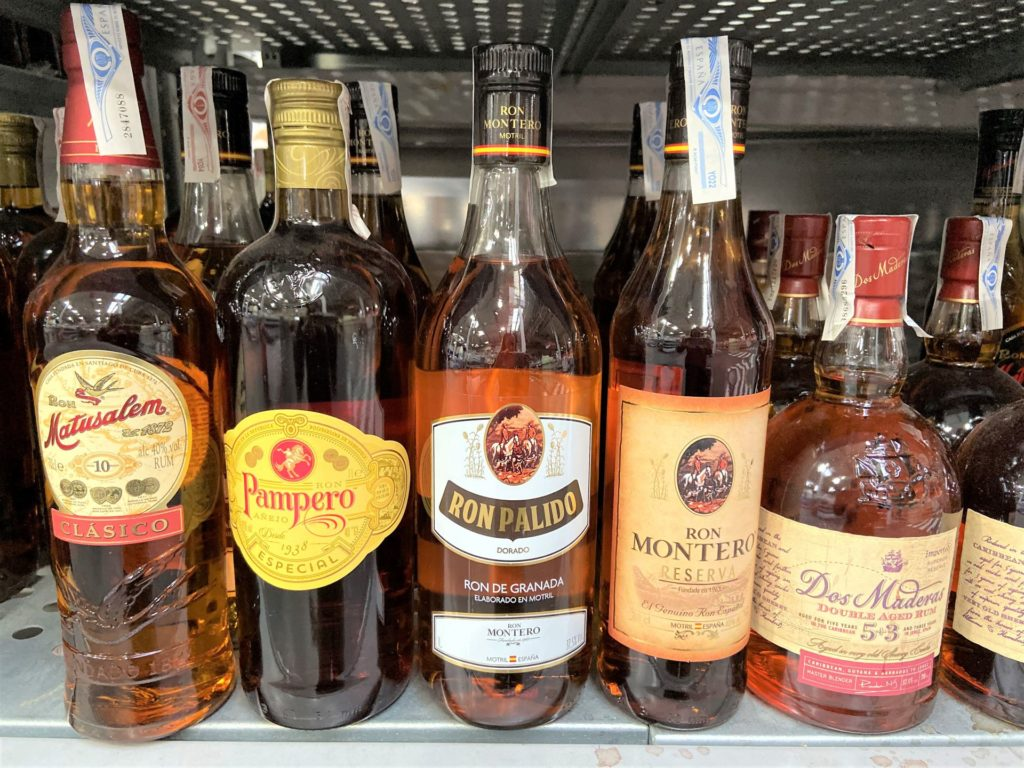 alkohol w Hiszpanii